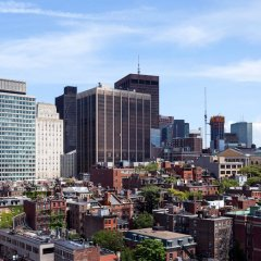 Отель Wyndham Boston Beacon Hill городской автобус