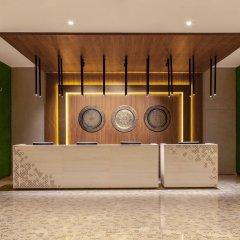 Отель Hilton Garden Inn Dubai Al Jadaf Culture Village ОАЭ, Дубай - 1 отзыв об отеле, цены и фото номеров - забронировать отель Hilton Garden Inn Dubai Al Jadaf Culture Village онлайн интерьер отеля