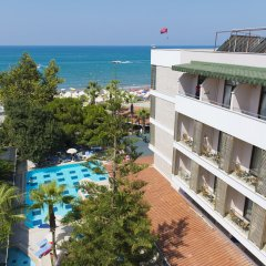 Отель Trendy Side Beach - All Inclusive - Adults Only пляж фото 2