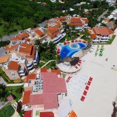 Отель Sunset Fishermen Beach Resort Плая-дель-Кармен бассейн