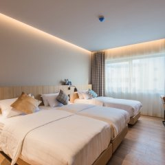 Отель Urban Lodge Hotel Нидерланды, Амстердам - отзывы, цены и фото номеров - забронировать отель Urban Lodge Hotel онлайн комната для гостей фото 5