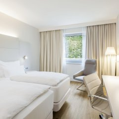 Hotel NH Düsseldorf City Nord 4* Стандартный номер разные типы кроватей фото 3