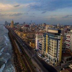 Отель The Ocean Colombo пляж