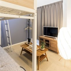 Отель Trip Pod Sumiyoshi B Хаката комната для гостей фото 4
