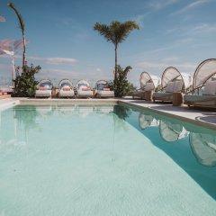 Отель Calixta Hotel Мексика, Плая-дель-Кармен - отзывы, цены и фото номеров - забронировать отель Calixta Hotel онлайн бассейн фото 2
