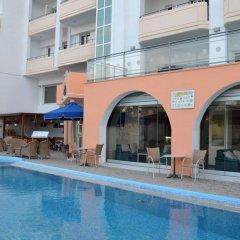 Отель Panorama Hotel and Apartments Греция, Родос - отзывы, цены и фото номеров - забронировать отель Panorama Hotel and Apartments онлайн бассейн фото 2