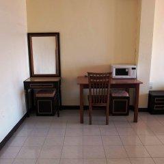 Апартаменты Parinyas Apartment Паттайя балкон