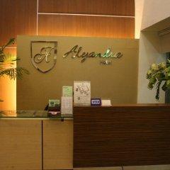 Отель Alejandra Hotel Филиппины, Макати - отзывы, цены и фото номеров - забронировать отель Alejandra Hotel онлайн интерьер отеля