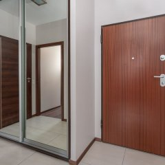 Отель Chill Apartments Warsaw Center Польша, Варшава - отзывы, цены и фото номеров - забронировать отель Chill Apartments Warsaw Center онлайн комната для гостей фото 2