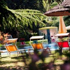 Отель Angerburg Blumenhotel Аппиано-сулла-Страда-дель-Вино бассейн фото 3