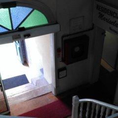 Отель Residencial Marisela сейф в номере