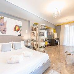 Отель Stylish Apartment with Balcony Греция, Афины - отзывы, цены и фото номеров - забронировать отель Stylish Apartment with Balcony онлайн комната для гостей фото 5