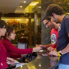 Hanoi Elegance Ruby Hotel гостиничный бар