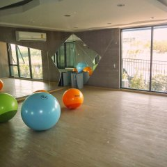 Отель Acqua Паттайя фитнесс-зал фото 4