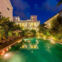 Отель Hoi An Garden Palace & Spa бассейн фото 2