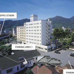 Hotel Fujiyoshi Беппу парковка