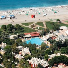 Belcekiz Beach Club Турция, Олудениз - 1 отзыв об отеле, цены и фото номеров - забронировать отель Belcekiz Beach Club - All Inclusive онлайн пляж фото 2