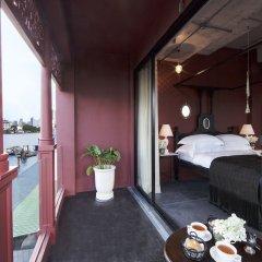 Отель Amdaeng Bangkok Riverside Hotel Таиланд, Бангкок - отзывы, цены и фото номеров - забронировать отель Amdaeng Bangkok Riverside Hotel онлайн балкон