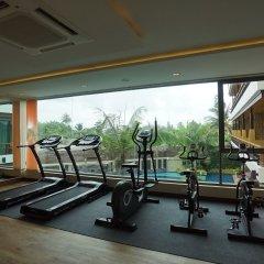 Отель Aqua Resort Phuket фитнесс-зал