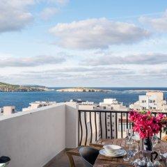 Отель Getawaysmalta - Seashells Penthouse 12 With Terrace and sea View in Bugibba Мальта, Буджибба - отзывы, цены и фото номеров - забронировать отель Getawaysmalta - Seashells Penthouse 12 With Terrace and sea View in Bugibba онлайн фото 6