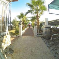 Отель Mavi Cennet Camping Pansiyon Сиде бассейн фото 2
