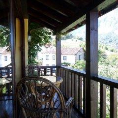 Отель Apartamentos Rurales Los Picos de Redo балкон