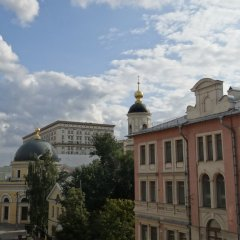 Goldfish Hostel Москва балкон