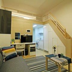 Апартаменты The Sweet Castle Apartment комната для гостей фото 4