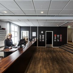 Отель First Hotel Aalborg Дания, Алборг - отзывы, цены и фото номеров - забронировать отель First Hotel Aalborg онлайн интерьер отеля