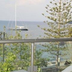 Отель Bristol Sea View Apartments Греция, Кос - отзывы, цены и фото номеров - забронировать отель Bristol Sea View Apartments онлайн балкон