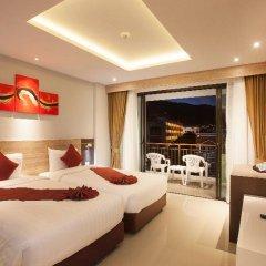 Отель Paripas Patong Resort 4* Стандартный номер с разными типами кроватей фото 7