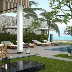 Отель Vinpearl Resort & Spa Hoi An пляж