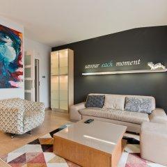 Отель Apartament Parkur Komfort Сопот комната для гостей фото 3