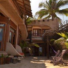 Отель Posada del Sol Tulum пляж
