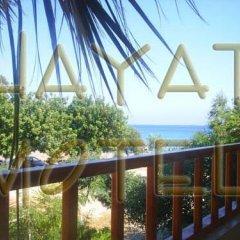 Отель Hayat Motel балкон