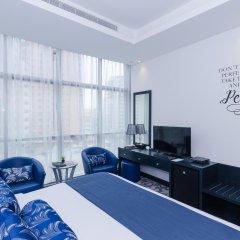 Signature 1 Hotel Tecom Дубай комната для гостей фото 2