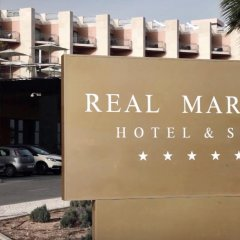 Real Marina Hotel & Spa Природный парк Риа-Формоза парковка