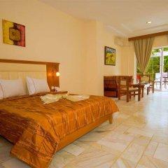 Отель Porfi Beach Hotel Греция, Ситония - 1 отзыв об отеле, цены и фото номеров - забронировать отель Porfi Beach Hotel онлайн комната для гостей фото 5
