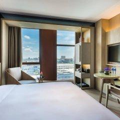 Отель Novotel Shanghai Clover комната для гостей фото 3