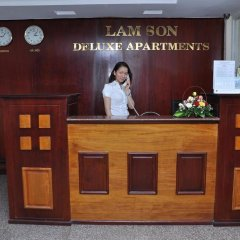 Отель Lam Son Deluxe Apartments Вьетнам, Вунгтау - отзывы, цены и фото номеров - забронировать отель Lam Son Deluxe Apartments онлайн интерьер отеля фото 2