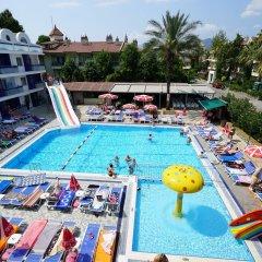 Club Exelsior Турция, Мармарис - отзывы, цены и фото номеров - забронировать отель Club Exelsior онлайн бассейн