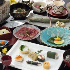 Отель Tsuetate Keiryu no Yado Daishizen Япония, Минамиогуни - отзывы, цены и фото номеров - забронировать отель Tsuetate Keiryu no Yado Daishizen онлайн питание фото 2