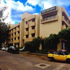 Отель Aurora Suites парковка