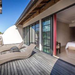 Отель Manava Suite Resort Tahiti балкон