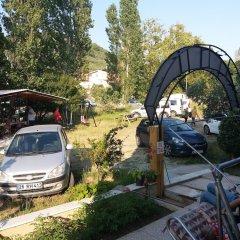 Отель Saglik Apart Pansiyon парковка
