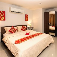 Отель Oceanview Treasure Hotel & Residence Таиланд, Карон-Бич - 1 отзыв об отеле, цены и фото номеров - забронировать отель Oceanview Treasure Hotel & Residence онлайн комната для гостей фото 2