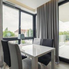 Апартаменты Luxury Apartments - Okrzei Residence Сопот балкон
