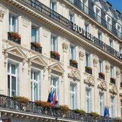 Отель Scribe Paris Opera by Sofitel вид на фасад фото 2