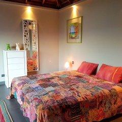 Отель Villa Manatea - Moorea Французская Полинезия, Папеэте - отзывы, цены и фото номеров - забронировать отель Villa Manatea - Moorea онлайн комната для гостей фото 3
