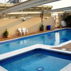Апартаменты Savoy Crest Apartments Дубай бассейн